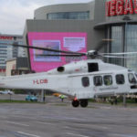 Вертолет AW189 впервые прилетел в Россию